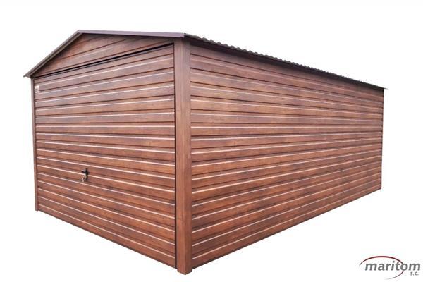 Garaże z blachy